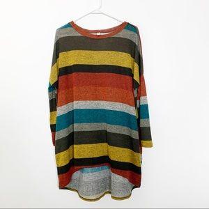 Jardin by Macris Colorblock Striped Tunic  #2445
